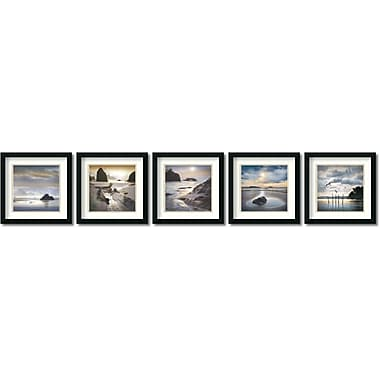 Amanti Art Vanscoy Coastal Photography Framed Art by William Vanscoy, 5/Pack (DSW995069)