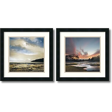 Amanti Art Three Days Gone/Beyond the Sun Framed Art by William Vanscoy, 2/Pack (DSW995070)