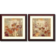 "Amanti Art ""Wild Field - Set of 2"" Framed Art by Aimee Wilson"