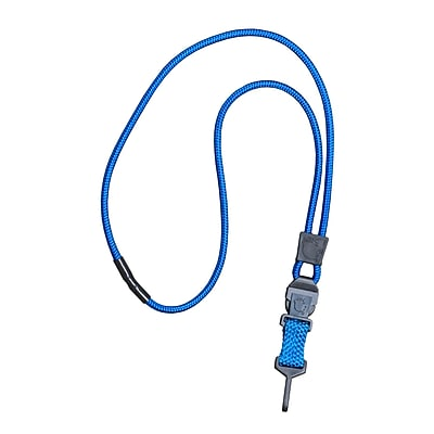 EK 10198C-C23 Credential Cat Lanyard, Blue