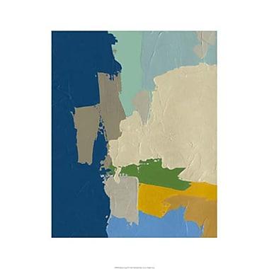 Evive Designs 'Random Logic III' by Chariklia Zarris Painting Print