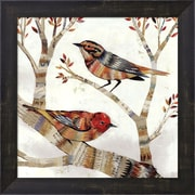 Evive Designs Warblers I by Dolan Geiman Framed Painting Print
