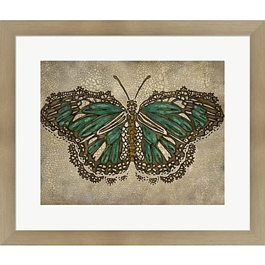 Evive Designs Lace Wing II by Chariklia Zarris Framed Painting Print