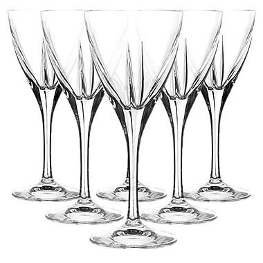 Lorren Home Trends Fusion RCR Crystal Water Glass (Set of 6)