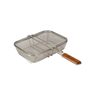 Bull Outdoor Stainless Wire Mesh Shaker Basket w/ Lid