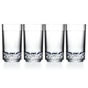 Drinique Elite Tall Highball Glass (Set of 4)