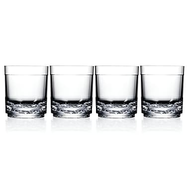 Drinique Elite Old Fashioned Glass (Set of 4)