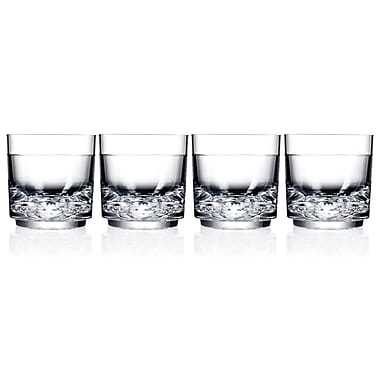 Drinique Elite Rock Old Fashioned Glass (Set of 4)
