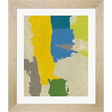 Evive Designs 'Random Logic IV' by Chariklia Zarris Framed Painting Print