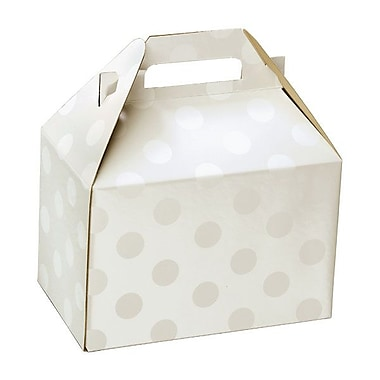 Shamrock Gable Box, Polka Dot Pearl, 8
