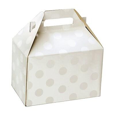 Shamrock Gable Box, Polka Dot Pearl, 8