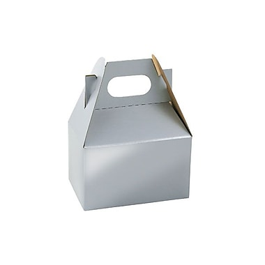 Shamrock Gable Box, Mini, Platinum Silver