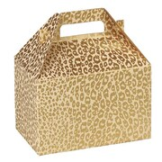 "Shamrock Gable Box, Golden Cheetah, 8"""