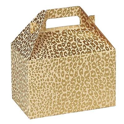 Shamrock Gable Box, Golden Cheetah, 8