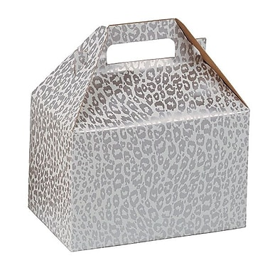 Shamrock Gable Box, Silver Cheetah, 8