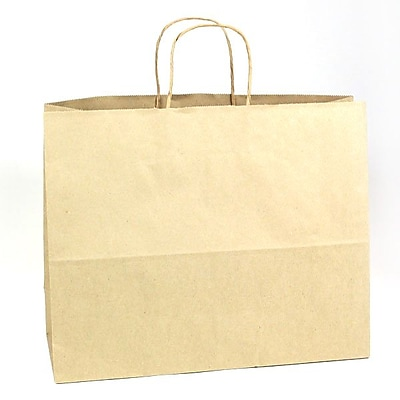 Shamrock Natural Kraft Paper Shopper, Jaguar