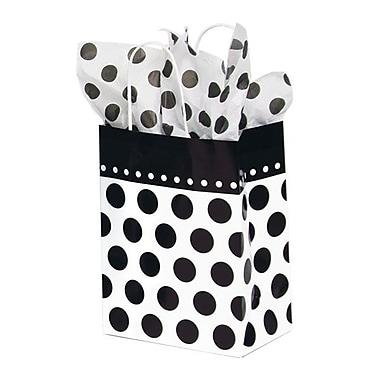 Shamrock Printed Paper Shopper, Domino Dots, Chimp