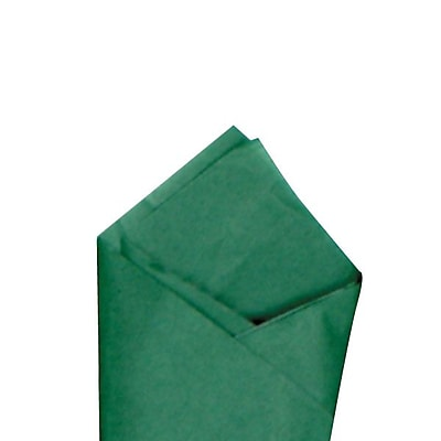 Shamrock SatinWrap Tissue Quire, Holiday Green