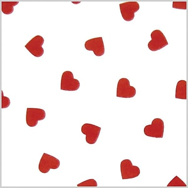Shamrock Stock Printed Tissue, Contemporary Hearts