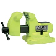 "Wilton® 5"" High-Visibility Safety Vise With Swivel Base"