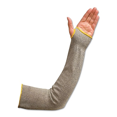 Wells Lamont® Standard Kevlar® Flame Resistant Arm Sleeve With Thumbhole, Yellow