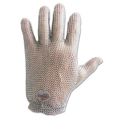 Wells Lamont® Stainless Steel Gloves, Silver, Large