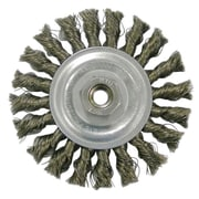 "Weiler® Vortec Pro® 4"" Standard Twist Wheel Brush"