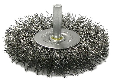 """""Weiler 4"""""""" Crimped Wire Radial Wheel Brush"""""" 1161715"