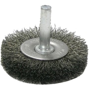 "Weiler® 2"" Crimped Wire Radial Wheel Brush, 10/Pack"