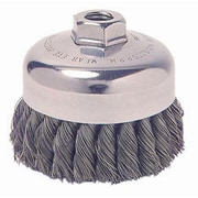 "Weiler® 1.625"" General-Duty Knot Wire Cup Brush"