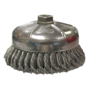 "Weiler® 1.375"" General-Duty Knot Wire Cup Brush"