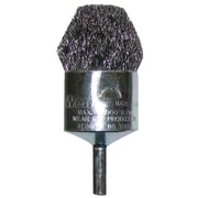 "Weiler® 1"" Crimped F Wire Controlled Flare End Brush"