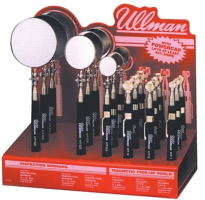Ullman Magnetic Pick-Up Tool & Inspection Mirror Display