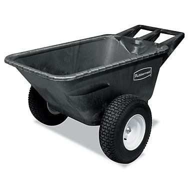 Rubbermaid® Commercial® Heavy-Duty Big Wheel Cart, Black