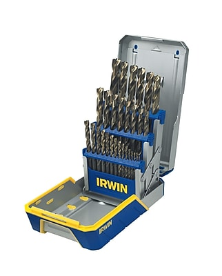 Irwin® 585-3018006B 29 Piece Turbomax Metal Index Drill Bit Set