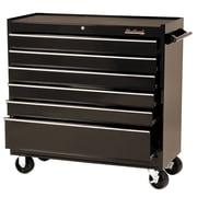 """Blackhawk 41"""" 6 Drawer Roller Cabinet, Black"""