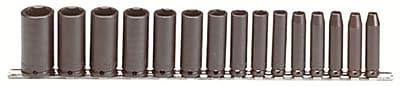 Proto® Torqueplus™ 15 Piece Deep Impact Socket Set, 3/8