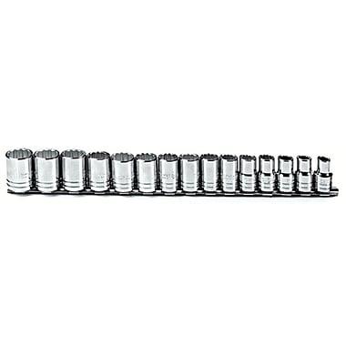 Proto® Torqueplus™ 15 Piece Metric Socket Set, 1/2