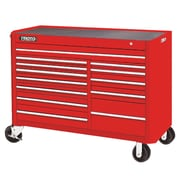 """Proto® 450HS 57"""" 13 Drawers Work Station, Red"""
