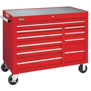 "Proto® 450HS 50"" 10 Drawers Work Station, Red"