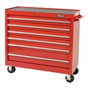 """Proto® 440SS 41"""" 6 Drawers Work Station, Red"""