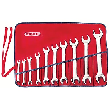 Proto® 10 Piece Metric Open End Wrench Set