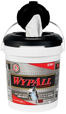 Kimberly-Clark Professional® WypAll® Wiper, White, 220/Bucket