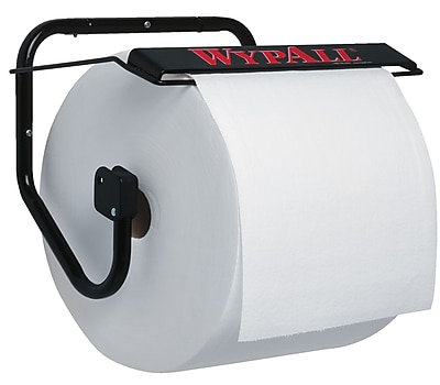 Kimberly-Clark Professional® Wypall® Jumbo Roll Wall Mount Dispener, Black
