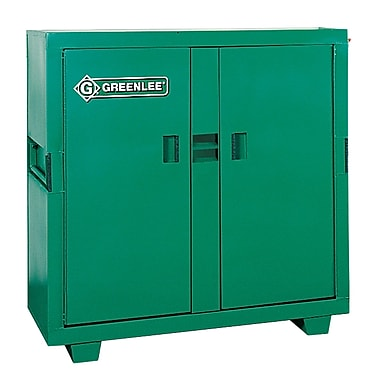 Greenlee® 5660L 2 Door Utility Cabinet, 46 Cu Ft
