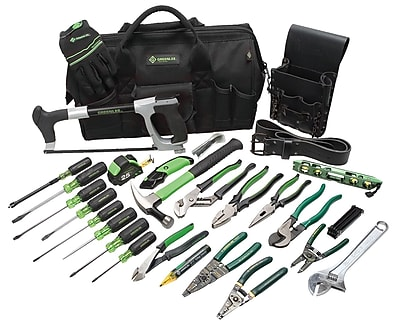 Greenlee® 28 Piece Master Electrician's Tool Kit