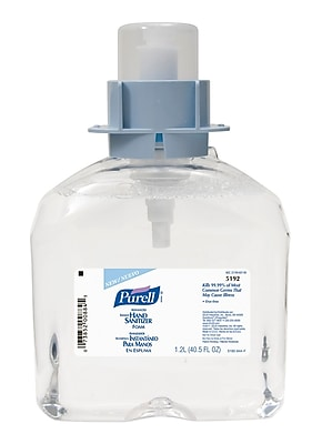 GOJO® FMX-12™ Purell® 1200 mL Advanced Instant Foam Hand Sanitizer, 3/Pack