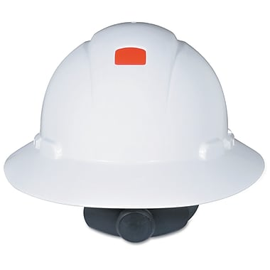 3M™ Full Brim Hard Hat With Uvicator, White
