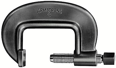 Armstrong® Tools 069-78-021 Full Screw Heavy Duty Pattern C-Clamp, 2 3/8