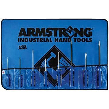 Armstrong® Tools 8 Piece Solid Handle Combination Screwdriver Set